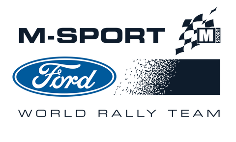 M-Sport Ford World Rally Team 2020 Logo Sticker