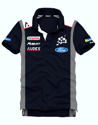 M-Sport World Rally Team 2020 Audes Team Polo Shirt