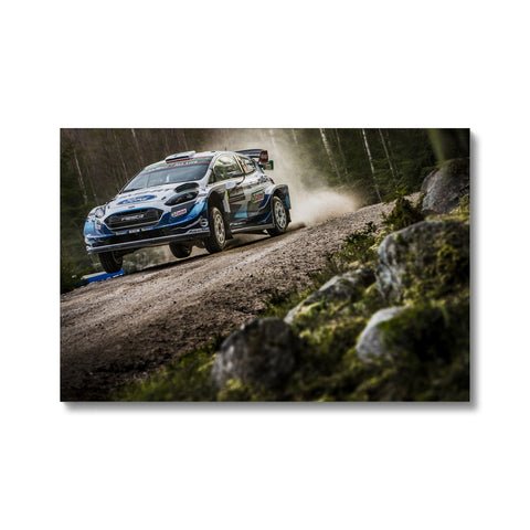 Teemu Suninen Rally Sweden 2020 Canvas