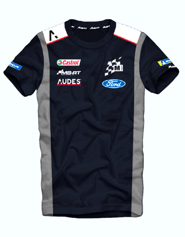 M-Sport World Rally Team 2020 Audes Team T-Shirt