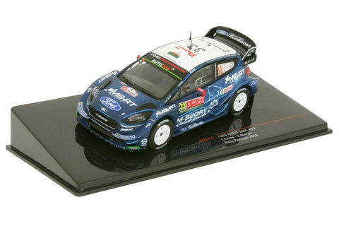 Elfyn Evans 2019 Rally Portugal Ford Fiesta WRC Model