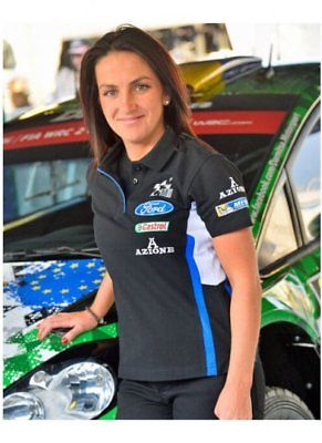 M-Sport World Rally Team 2015/16 Ladies Azione Team Polo Shirt *Clearence*