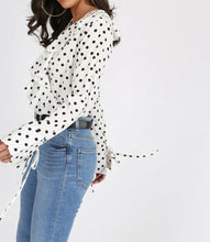 White Polka Dot Bodysuit