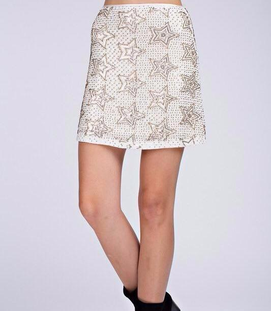 Embellished Star Skirt