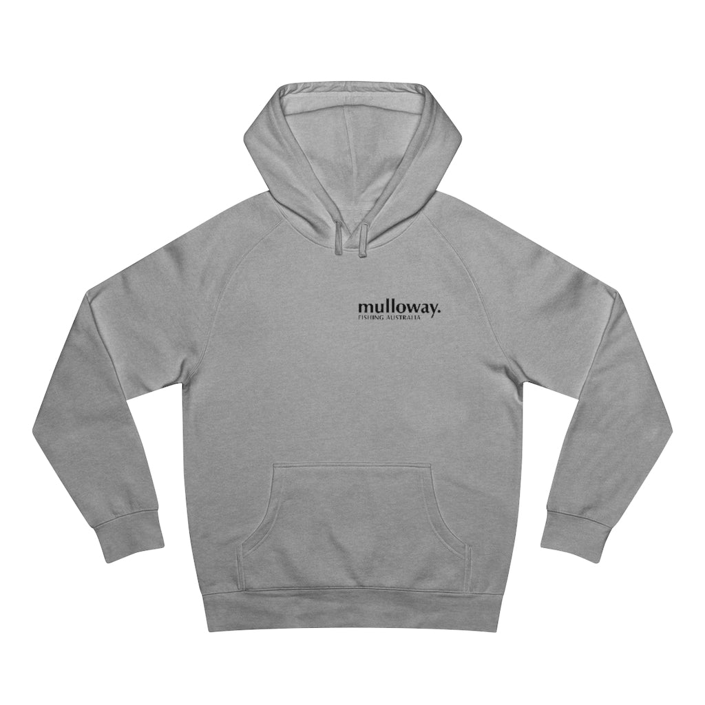 Mulloway Fishing Australia™ Emblem Hooded Jumper