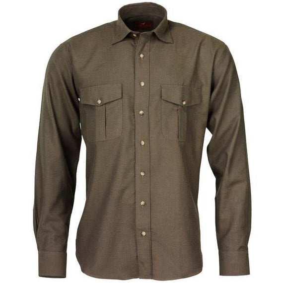 Laksen Lancaster Cotton Wool Shirt