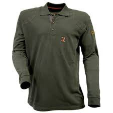 Percussion Hunting Long-Sleeved Polo