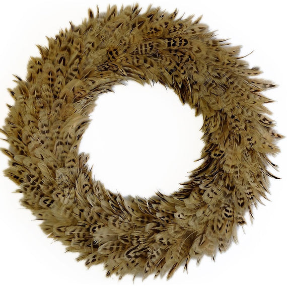 wingfield digby hen pheasant feather wreath