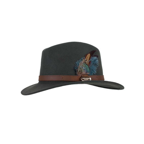 Hicks and Brown Classic Fedora