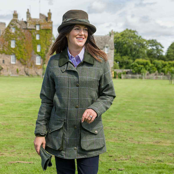 hoggs of fife albany ladies shooting coat