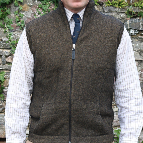 Noble Wilde Possum Mens Gilet