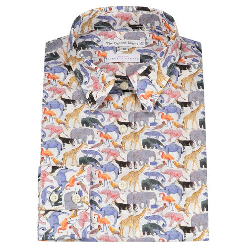 Liberty Queue for the Zoo Fitted Shirt