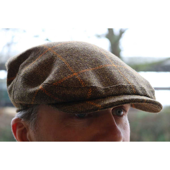 Olney  Tweed Kinloch Saxony Cap