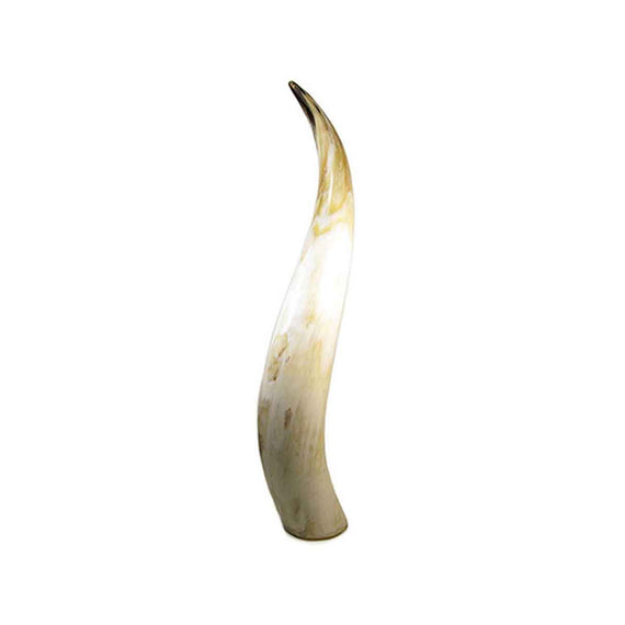 abbeyhorn polished cow horn