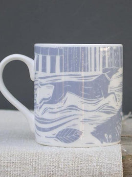 Sam Wilson Through the Fields Bone China Mug
