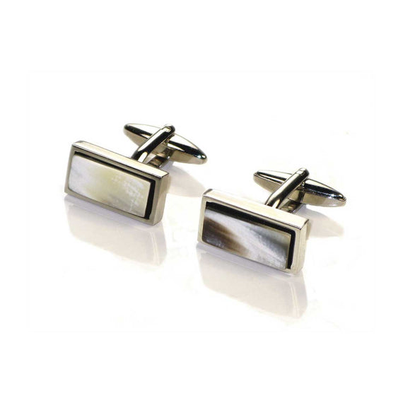 abbeyhorn horn rectangular cufflinks