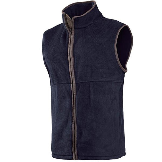 Baleno Harvey Fleece Gilet - Navy