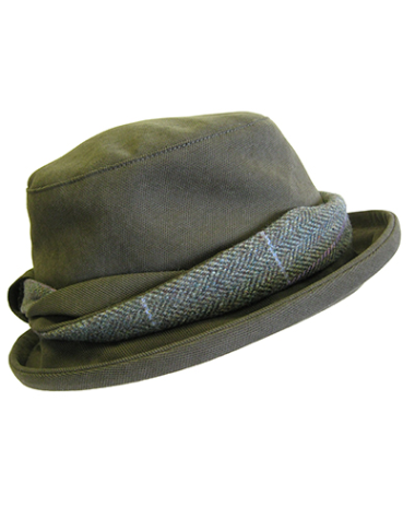 Hoggs of Fife Ladies Albany Tweed-Twist Hat