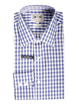 Oxford Classic Shirt in Large Blue Check SOR