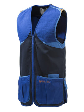 Beretta Cotton Shooting Vest - Navy