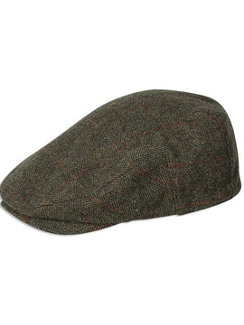 Hoggs of Fife Harwood Tweed Cap