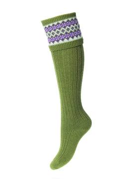 House of Cheviot Lady Fairisle Sock