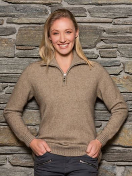 Noble Wilde Possum Womens Teak Jumper