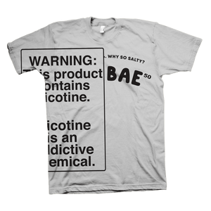 Saltbae50 Warning Shirt