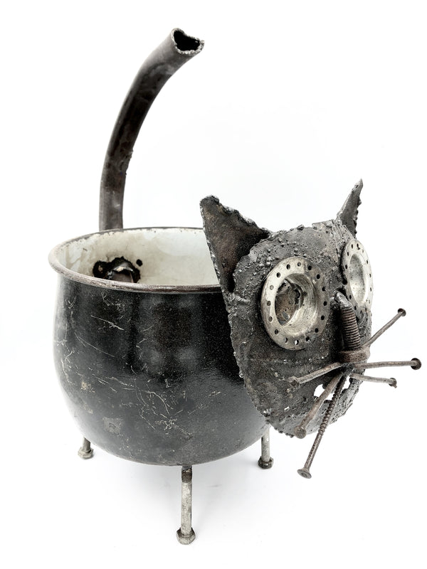 TEA POT CAT (SMALL)