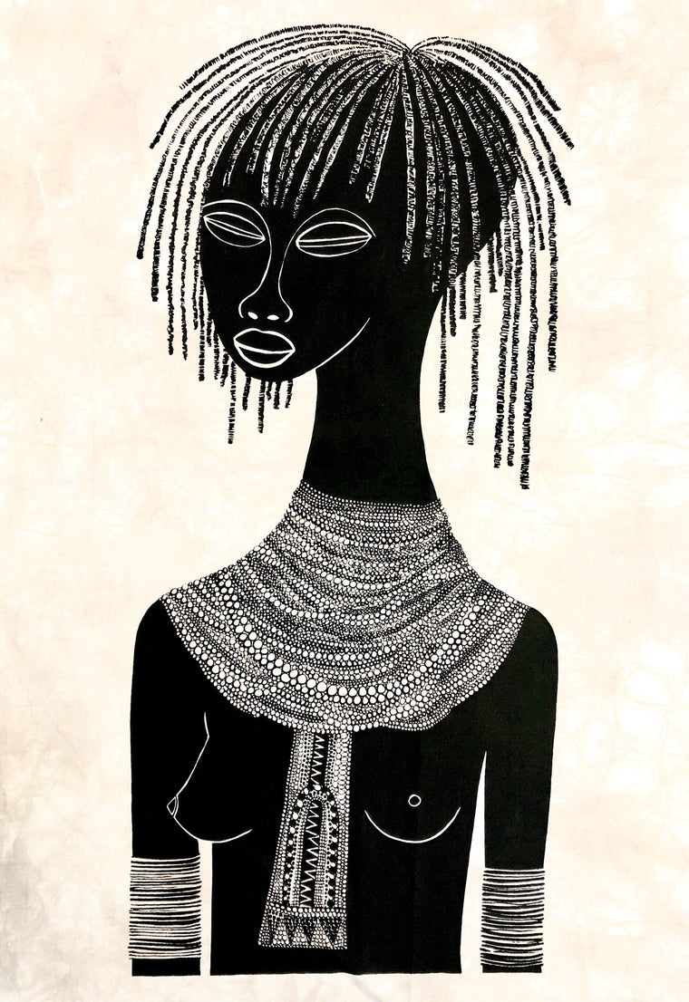 BATIK TURKANA GIRL