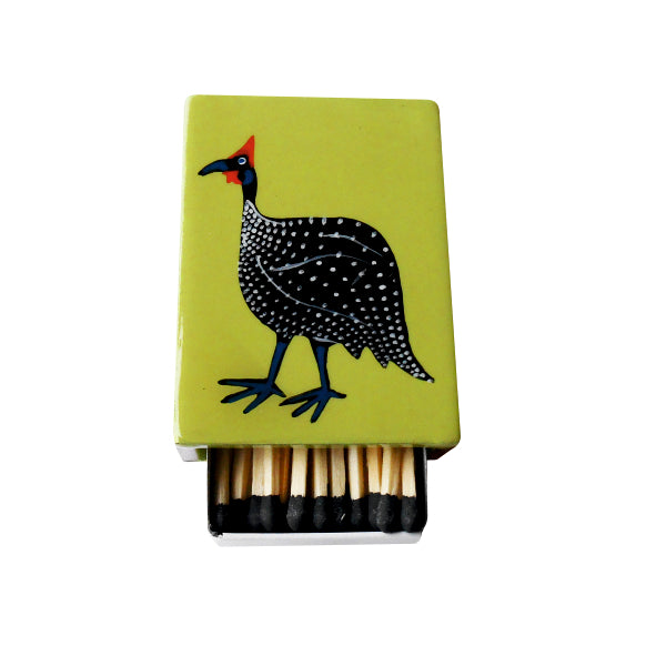 SMALL MATCHBOX HAND PAINTED