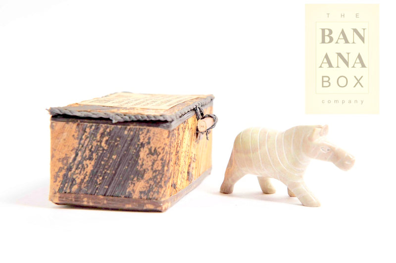 SOAPSTONE ANIMAL IN A BOX (Small)