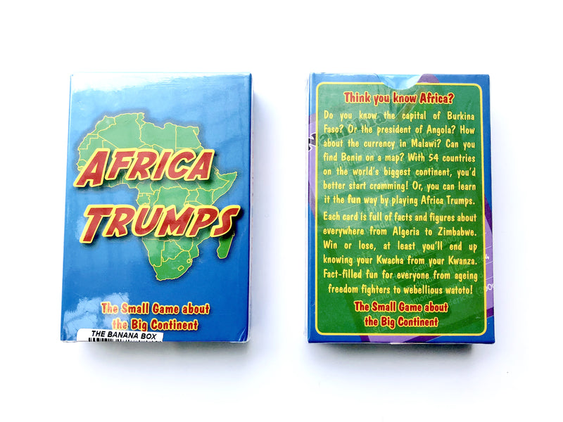 PLAYING CARDS ~ AFRICA TRUMPS