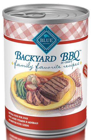 Blue Buffalo Family Favorites Backyard BBQ Canned Dog Food