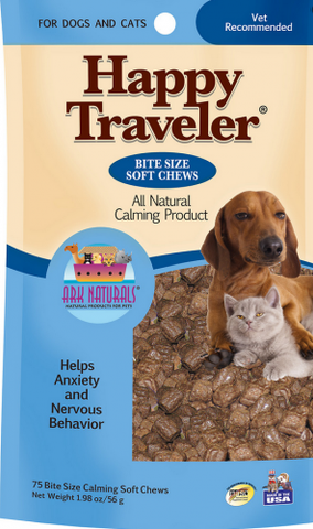 Ark Naturals Happy Traveler Soft Chews for Dogs and Cats