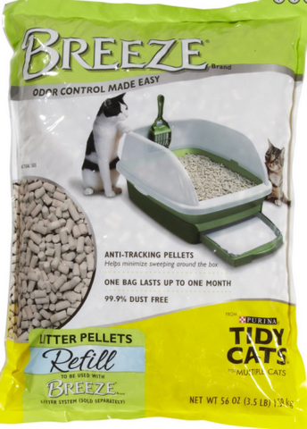 Tidy Cat Breeze Cat Litter Pellets