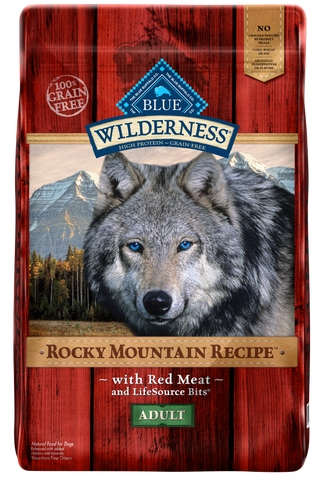 Blue Buffalo Wilderness Rocky Mountain with Red Meat Adult Dry Dog Food