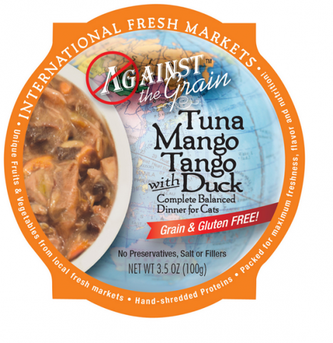 Against the Grain Tuna Mango Tango with Duck Dinner Canned Cat Food