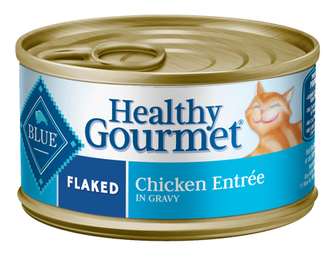 Blue Buffalo BLUE Healthy Gourmet Flaked Chicken Entree Canned Cat Food