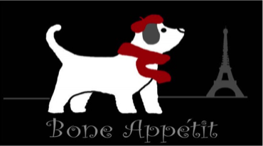 Arlee Pet Products Bone Appetit Tapestry Bowl Mat