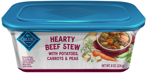 Blue Buffalo Hearty Beef Stew with Potatoes, Carrots, and Peas Dog Food Tray