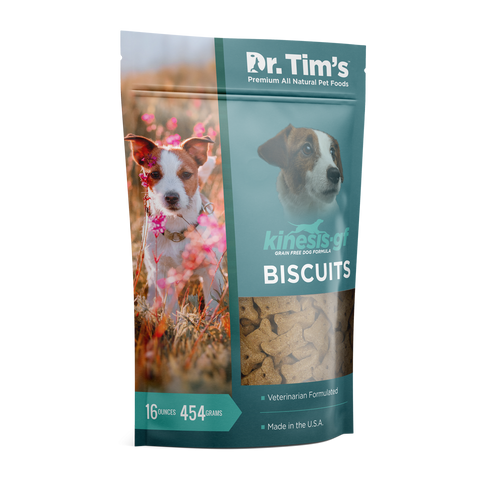 Dr. Tim's Grain Free Kinesis Biscuits All Life Stages Dog Treats