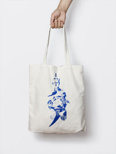 AMELIA THE AVIATRESS (BLUE) TOTE