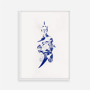 AMELIA THE ADVENTURER SCREEN PRINT