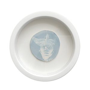 AMELIA THE AVIATRESS NO1 (STUDY ON PORCELAIN)