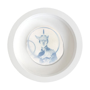 AMELIA THE AVIATRESS WITH CIRCLES (STUDY ON PORCELAIN)