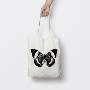 BLUE MORPHO BUTTERFLY TOTE