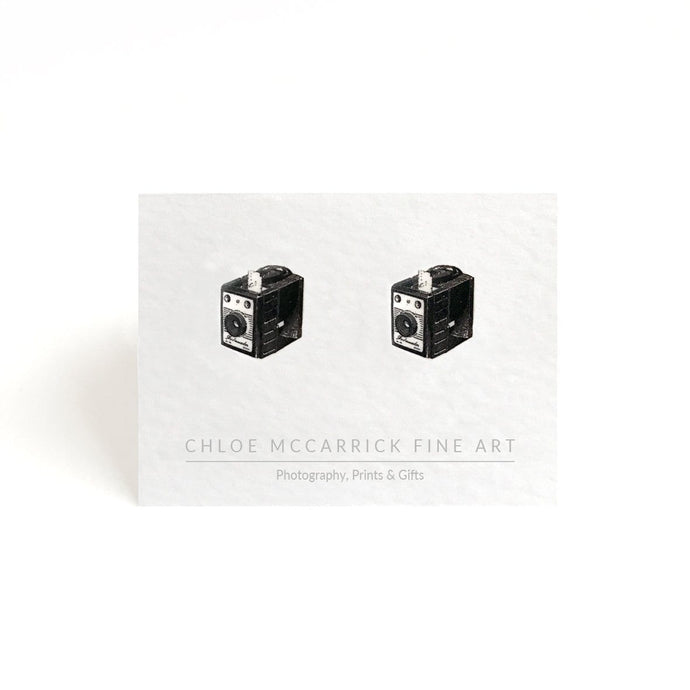 BOX CAMERA EARRINGS