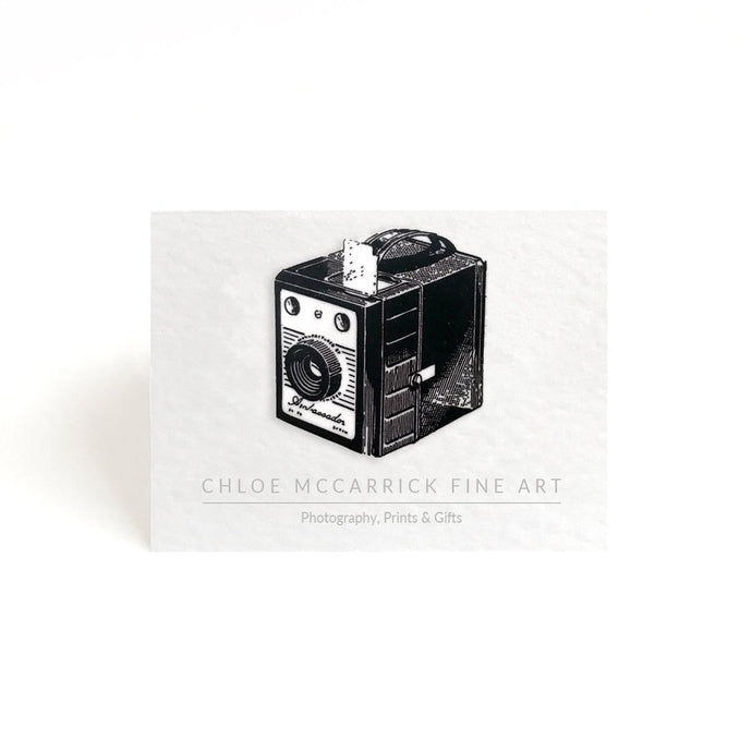 BOX CAMERA BROOCH (MEDIUM)
