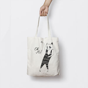 DANCING KITTY TOTE